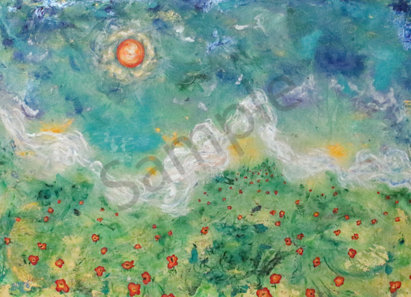 """Poppy Daydreams"" by Bronson Burdick 