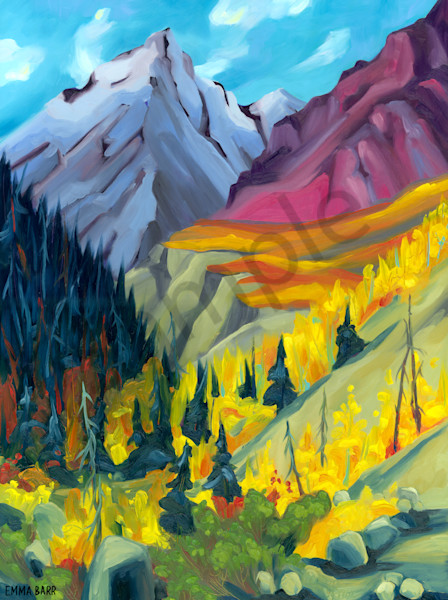 Beauty in Kluane | Deluxe Canvas Print | Emma Barr Fine Art