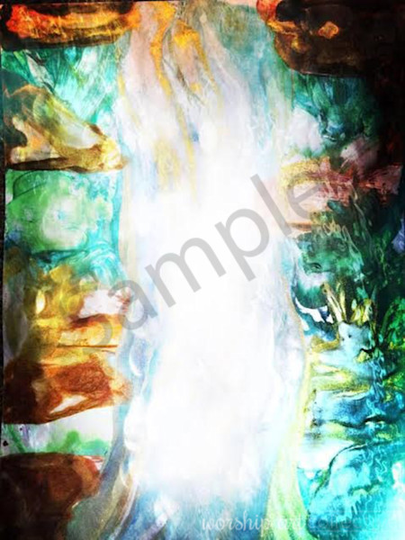"""""""Waterfall Of God's Love"""" by Samantha Black   Prophetics Gallery"""
