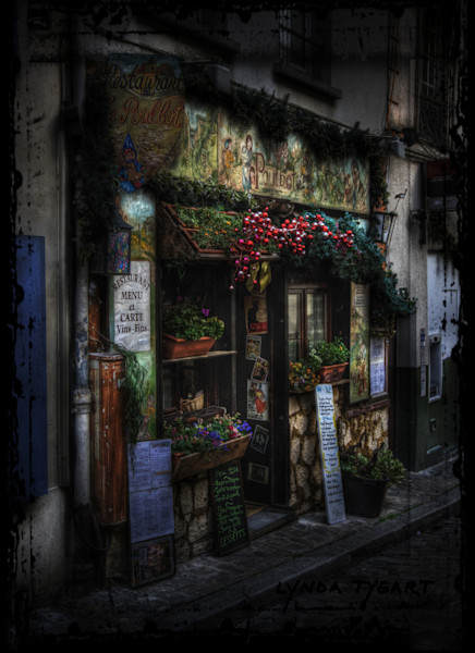 Lynda Tygart Cafe Paris France Europe – Fine Art Photographs Prints on Canvas, Paper, Metal & More.