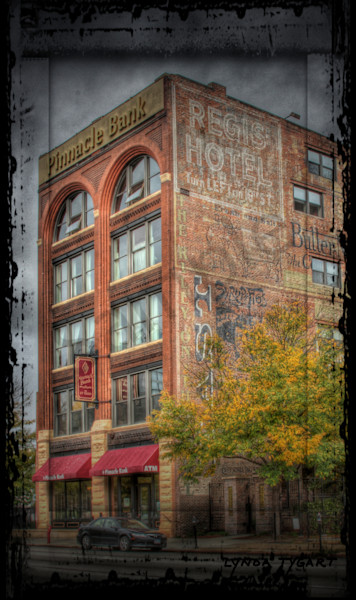 Lynda Tygart Pinnacle Bank Old Market Omaha Nebraska – Fine Art Photographs Prints on Canvas, Paper, Metal and More.