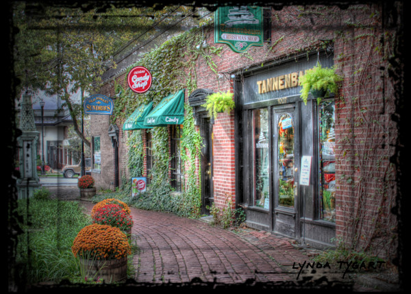 Lynda Tygart Candy Shop Tannenbaum Old Market Omaha Nebraska – Fine Art Photographs Prints on Canvas, Paper, Metal and More.