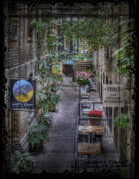 Lynda Tygart Passageway Old Market Omaha Nebraska – Fine Art Photographs Prints on Canvas, Paper, Metal and More.
