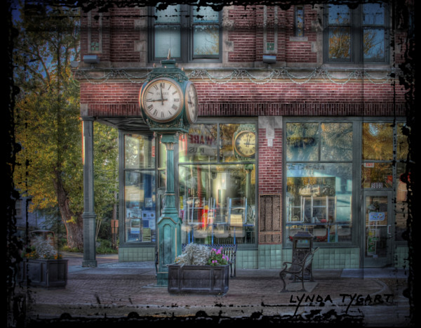 Lynda Tygart Dundee Clock Omaha Nebraska – Fine Art Photographs Prints on Canvas, Paper, Metal and More.