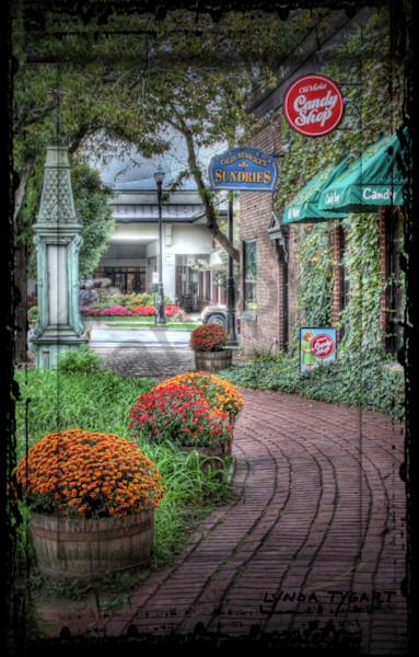 Lynda Tygart Candy Shop Old Market Omaha Nebraska – Fine Art Photographs Prints on Canvas, Paper, Metal and More.