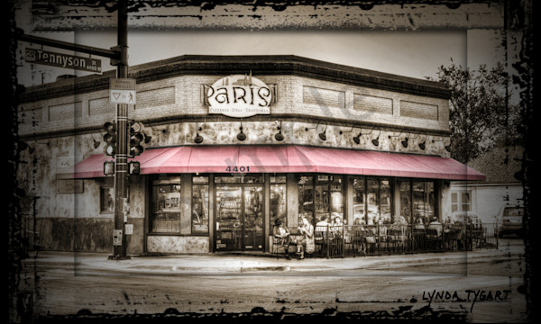 Lynda Tygart Fine Art Photographs Prints of Parisi's restaurant in Denver Colorado in Tennyson Berkeley Neighborhood on Canvas, Paper, Metal & More.