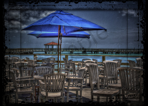 Lynda Tygart Louie's Backyard Restaurant Bar in Key West Florida – Fine Art Photographs Prints on Canvas, Paper, Metal & More.