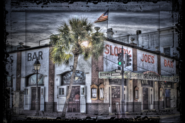 Lynda Tygart Sloppy Joe's Saloon Bar in Key West Florida – Fine Art Photographs Prints on Canvas, Paper, Metal & More.