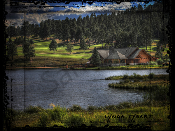 Lynda Tygart Evergreen Colorado Lake House near Mountain – Fine Art Photographs Prints on Canvas, Paper, Metal & More.