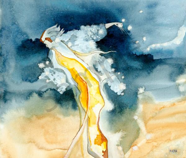 """Running The Race"" by Ineke Hopgood Prophetics Gallery"
