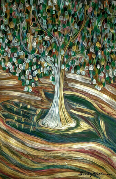 """""""He Is The Vine"""" by Nicky Williams 