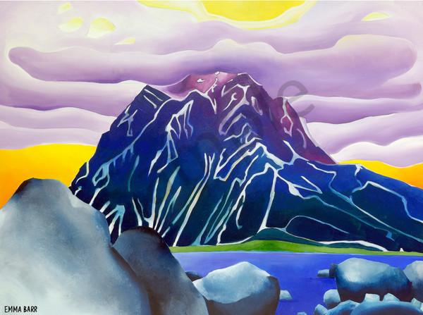 Mount Minto | Deluxe Canvas Print | Emma Barr Fine Art