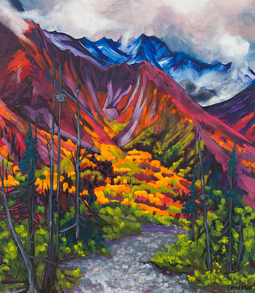 Unforgettable Valley | Deluxe Canvas Print | Emma Barr Fine Art