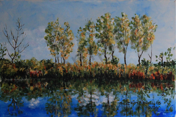 """Reflections"" by Canadian Artist Joan Fotopoulos 