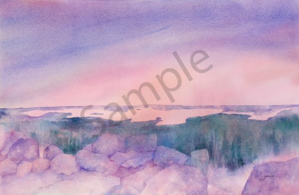 """Sunset Vista"" by Judy Johnson | Prophetics Gallery"