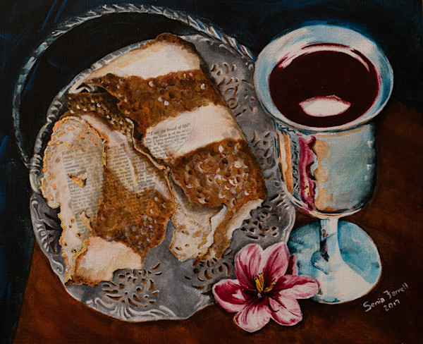 """""""Jesus Is The Bread Of Life""""  by Sonia Farrell 