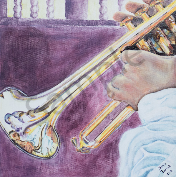 """Music to our Ears - Trumpet"" By Sonia Farrell 