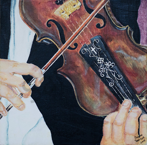 """Music to our Ears - Violin"" by Sonia Farrell 