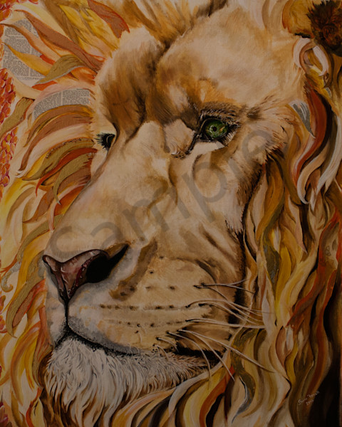 """Jesus is The Worthy Lion of Judah"" by Sonia Farrell 