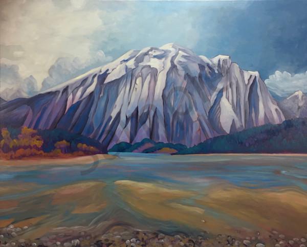 Base Mountain | Deluxe Canvas Print | Emma Barr Fine Art