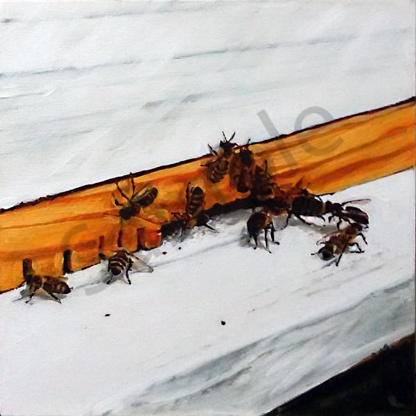"""Bee Hive"" by Serbian Artist Andrei Cicală | Prophetics Gallery"