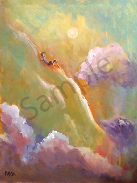 """Psalm 46"" by Mary Fusco 