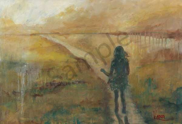 """A Pleasant Path"" by South African Artist Karen Harkema 