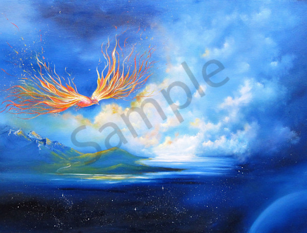 """Fire Bird"" by Anna Sophia 