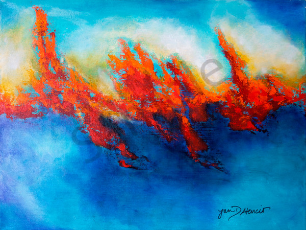 """Invasion of Fire"" by Jan Atencio 