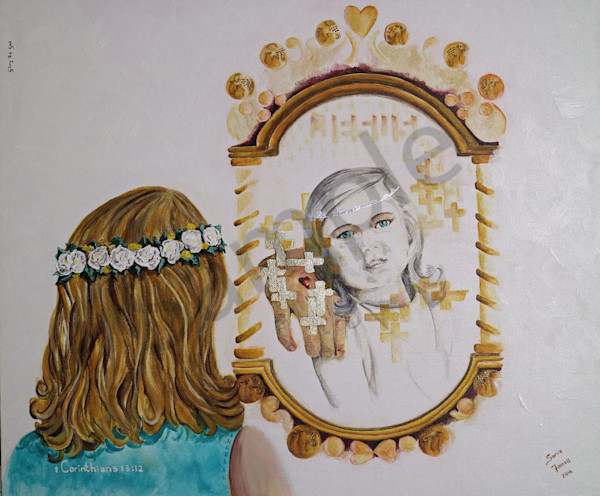 """Mirror Mirror - Now And Then"" by Sonia Farrell 