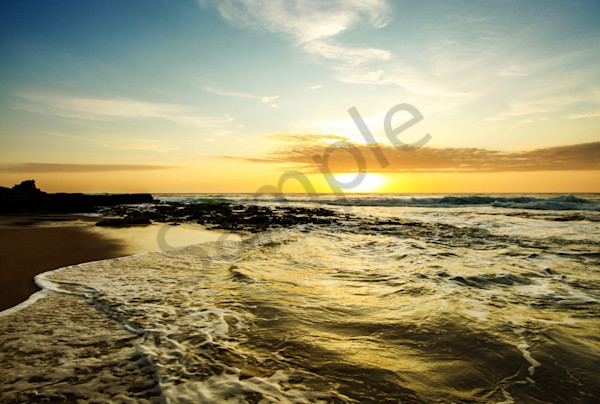 """Golden Waves"" by South African Photographer Karen Edmondson 