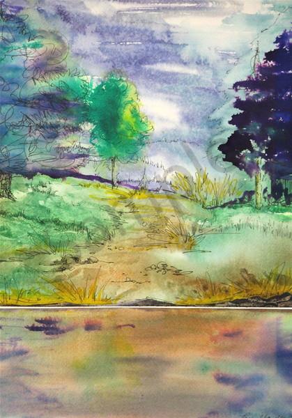 To The Water's Edge Art | lesliechandlerarts