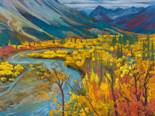 MacMillan River Magic | Deluxe Canvas Print | Emma Barr Fine Art