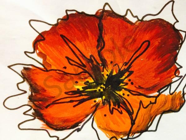Poppy Art | lesliechandlerarts