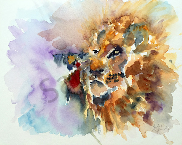 """""""The Lion And The Lamb"""" Are One by Jill Lawton   Prophetics Gallery"""