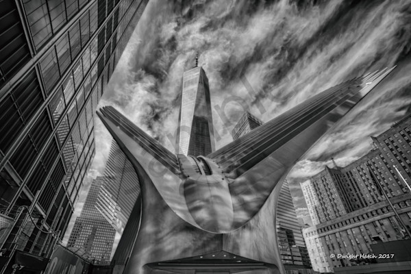 The Oculus And Freedom Tower 3 2534 Photography Art | DS Hatch Photography