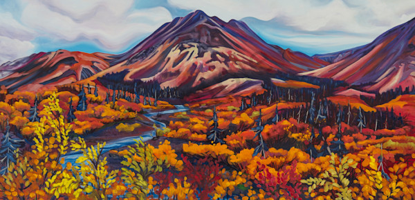 Base Camp | Deluxe Canvas Print | Emma Barr Fine Art