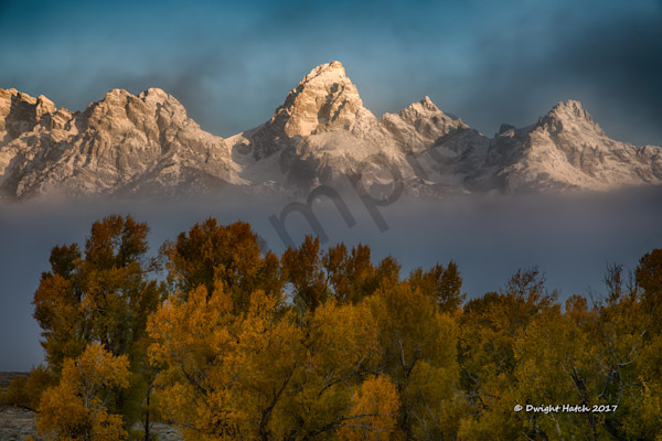 Sunrises on the Grand Tetons