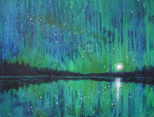 Midnight Grandeur Art | lesliechandlerarts