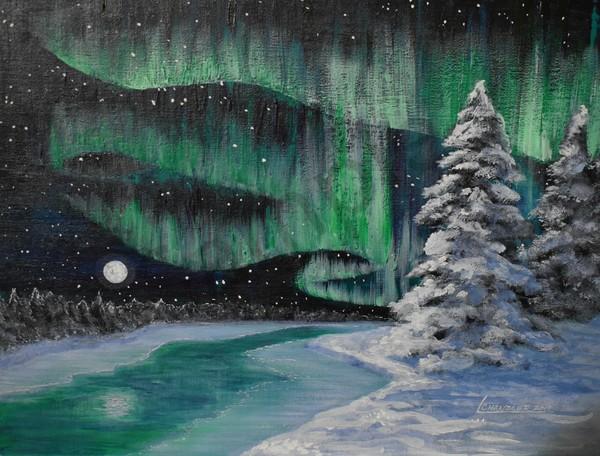 Northern Night Art | lesliechandlerarts