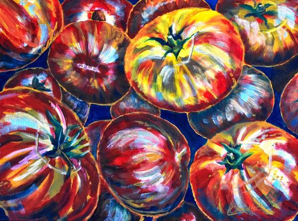 Heritage Tomatoes Art | lesliechandlerarts