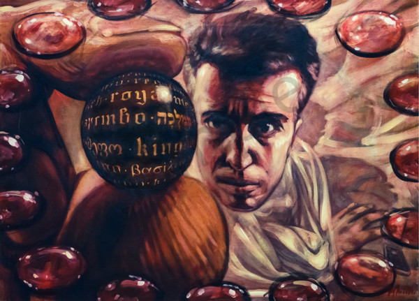 """The Merchant"" by Andrei Cicală   Prophetics Gallery"