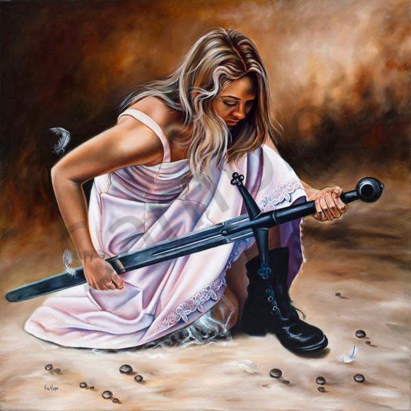 """Sword Of The Holy Spirit"" by Ilse Kleyn | Prophetics Gallery"