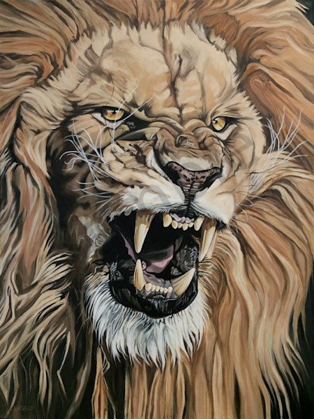 """Jealous Roar"" by Nathan Rhoads 