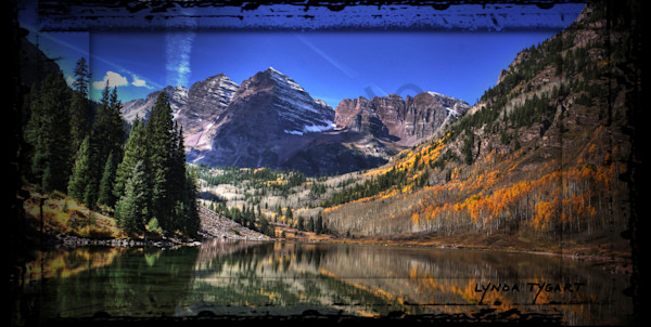 Tygart Colorado Maroon Bells Photography Art | LYNDA TYGART  ART PHOTOGRAPHS