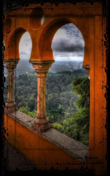 Tygart Portugal Castle Window2 Photography Art | LYNDA TYGART  ART PHOTOGRAPHS