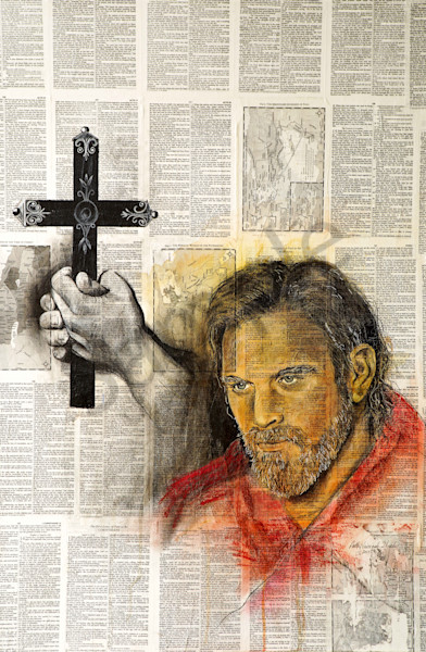 """Apostle Paul"" by Patti Hricinak-Sheets 