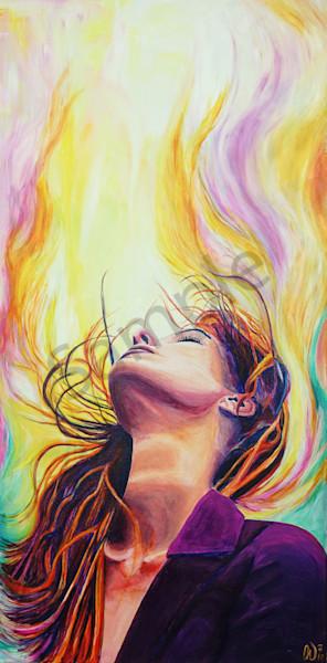 """Heavenly Flow"" by Anke Weimer | Prophetics Gallery"