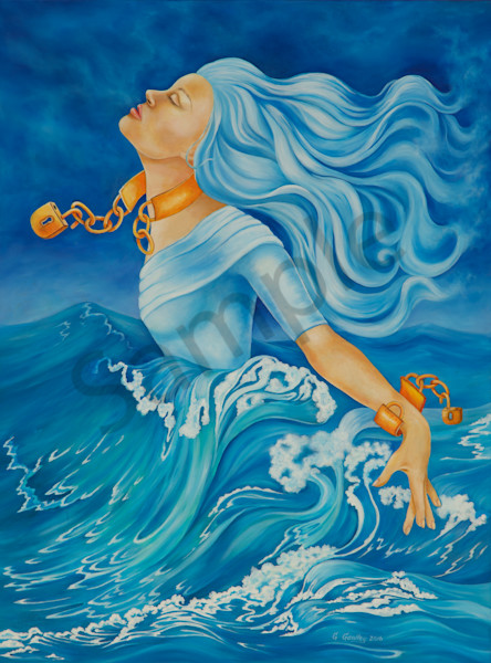 """Liberty"" by Canadian Artist Geri Gawley 