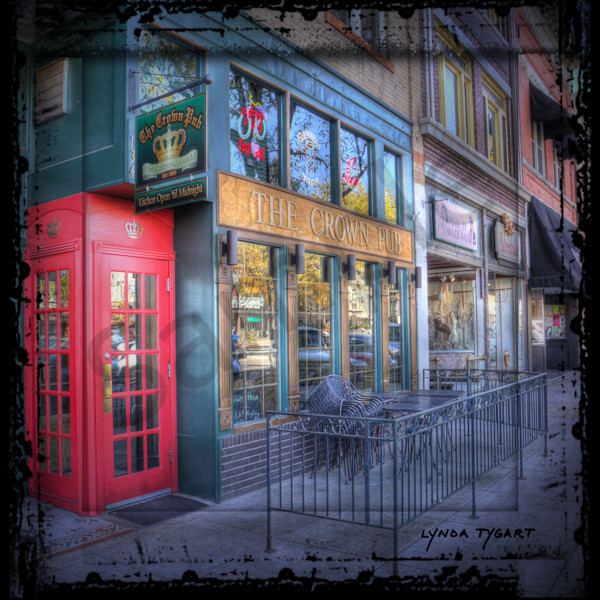 Tygart Fort Collins Old Town Phone Booth Square Photography Art | LYNDA TYGART  ART PHOTOGRAPHS
